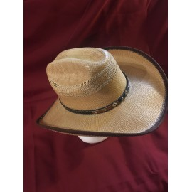 Alan Brown Straw Hat